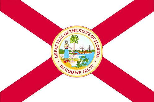 Florida motorcycle flag