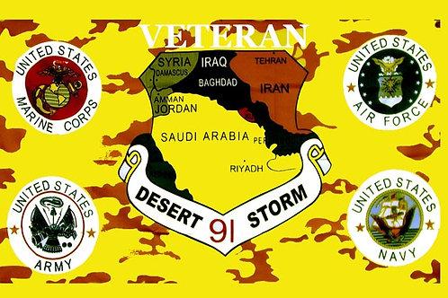 Desert Storm Flag
