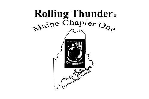 Rolling Thunder Motorcyle  Flag