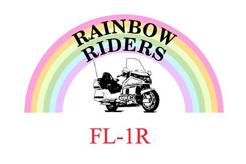 Florida, Ch-FL1-R  Motorcyle  Flag