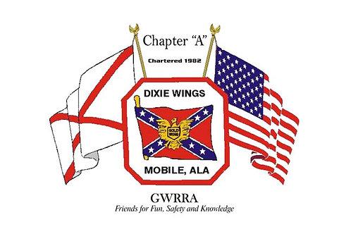 Alabama, CH-A  Motorcyle  Flag