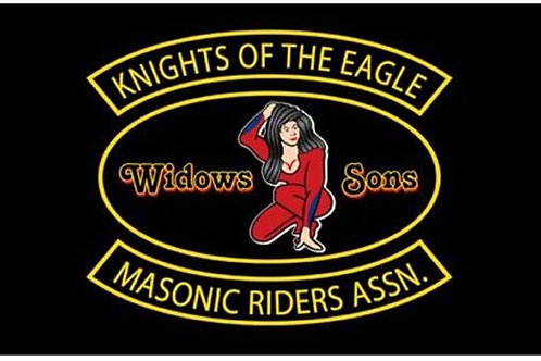 Widowers Sons Motorcycle Flag