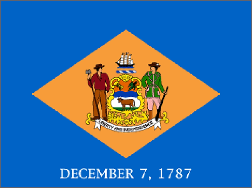 Delaware Motorcycle flag