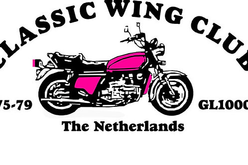 Classic Wings Motorcyle Flag