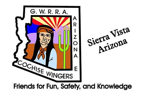 Arizona, CH-E  Motorcyle  Flag