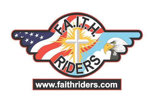 Faith Riders Motorcyle Flag