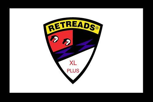 Retreads Motorcyle  Flag