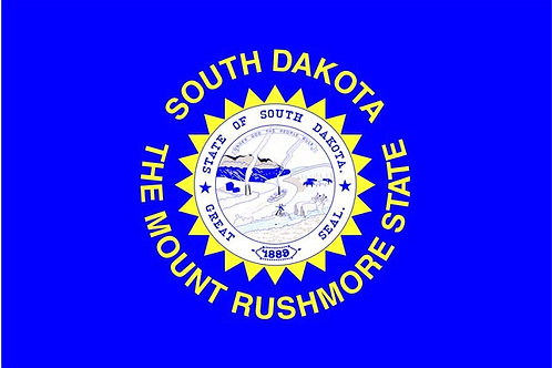 South Dakota Motorcycle flag