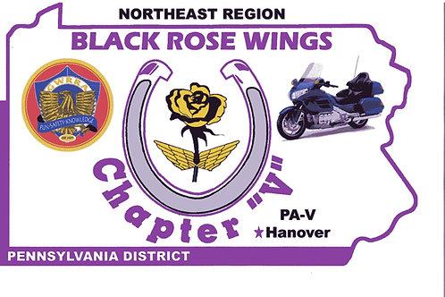 Pennsylvania Ch-V, Motorcycle flag