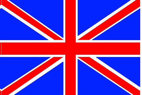 Great Britain Motorcyle Flag