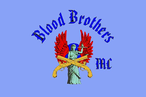 Blood Brothers Motorcyle Flag