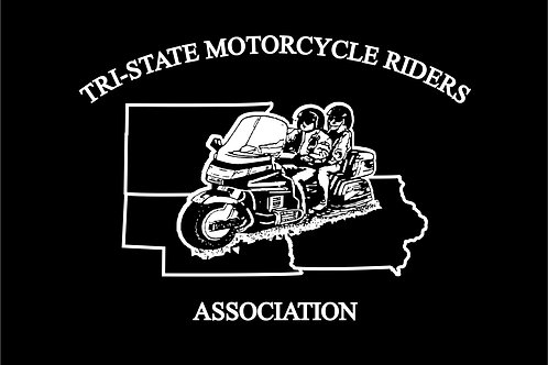 Tri State  Motorcyle  Flag