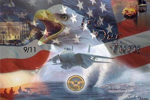 9-11 Eagle Flag