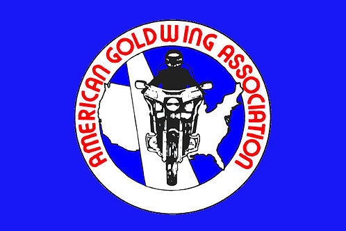 American Goldwing Assoc Motorcyle Flag