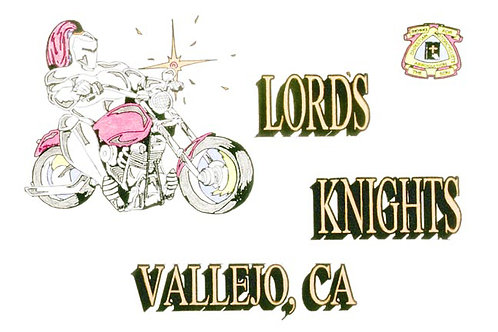 Lords Knights Motorcyle  Flag