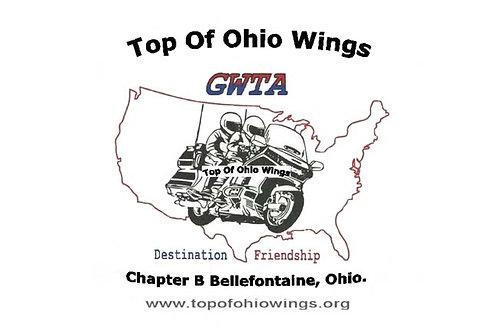 Top of Ohio GWTA  Motorcyle  Flag