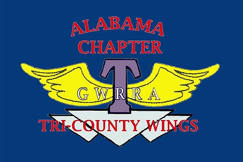 Alabama, CH-T  Motorcyle  Flag