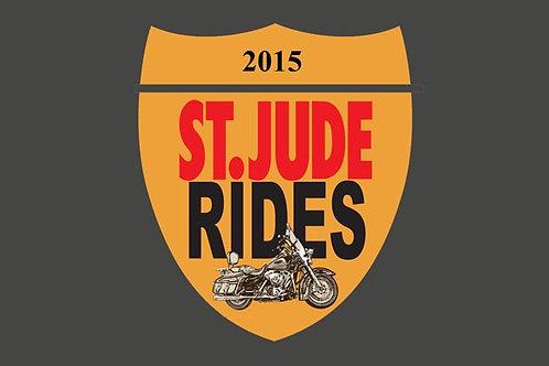 Saint Judes Motorcycle Flag
