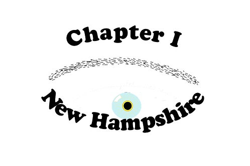 New Hampshire Ch-I, Motorcyle  Flag