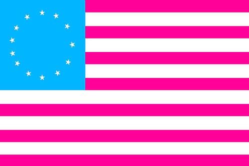 American Betsy Ross 13 star