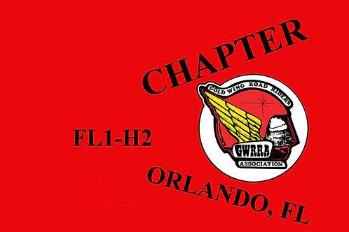 Florida, Ch-FL1-H  Motorcyle  Flag