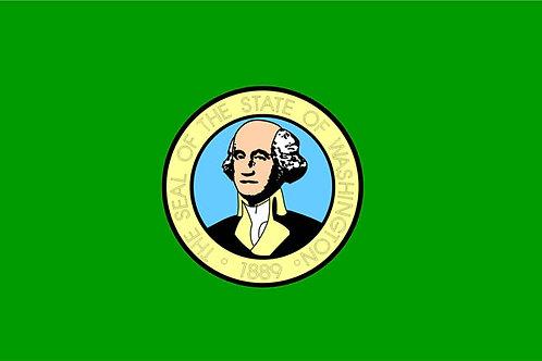Washington Motorcycle flag