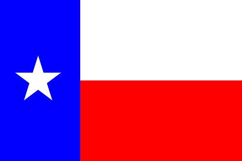 Texas Motorcycle flag