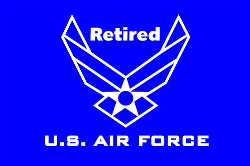 USAF Current Retired Flag