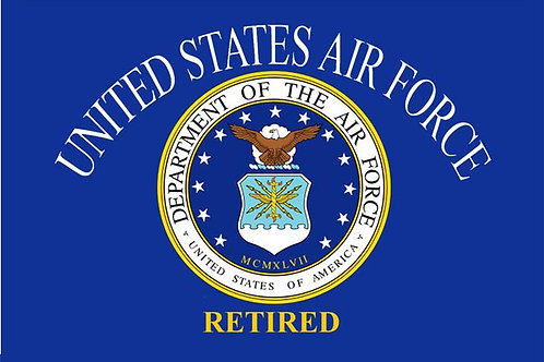 USAF Retired Flag