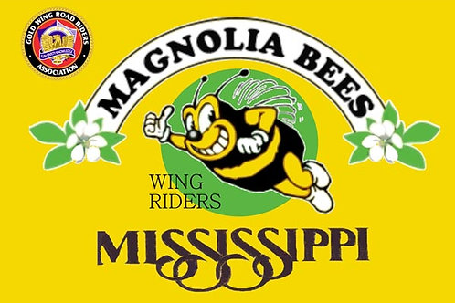 Mississippi, Ch-B Motorcyle  Flag