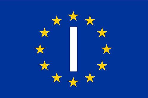 Italy (EU) Flag