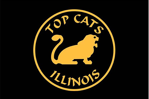 Top Cats  Motorcyle  Flag