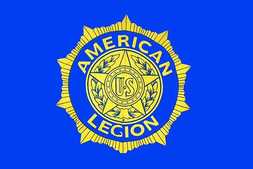 American Legion Motorcycle Flag
