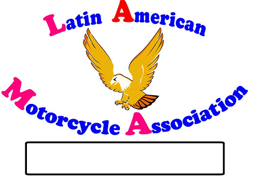Latin American Motorcycle Assoc  Motorcyle  Flag