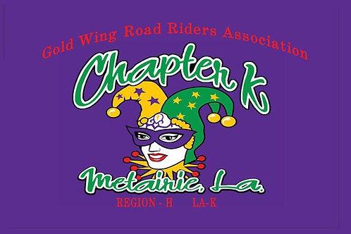 Louisiana, Ch-K Motorcyle  Flag