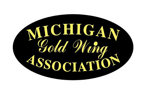Michigan Gold Wing Assoc  Motorcyle  Flag