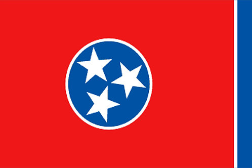 Tennessee Motorcycle flag