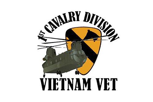 1st Cavalry Vietnam Flag
