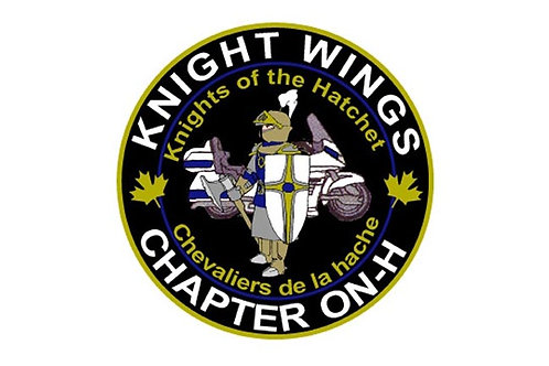 Knight Wings Motorcyle Flag