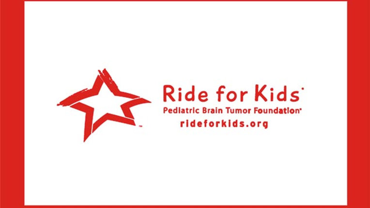Ride for Kids Motorcycle Flag