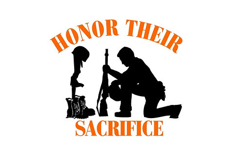 Honor their sacrafice Flag