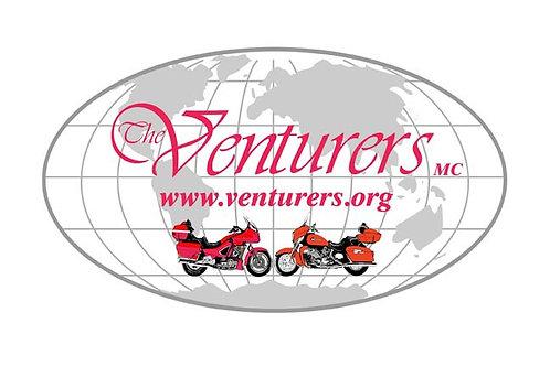 Venture Riders  Motorcyle  Flag