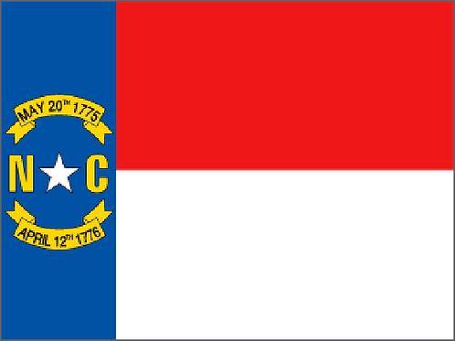 North Carolina Motorcycle flag