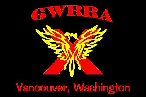 Washington, Ch-X Motorcycle flag