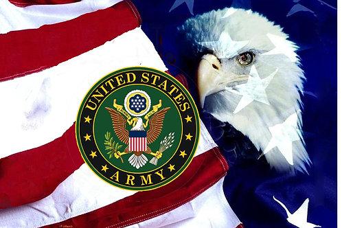 U.S. Army Eagle flag