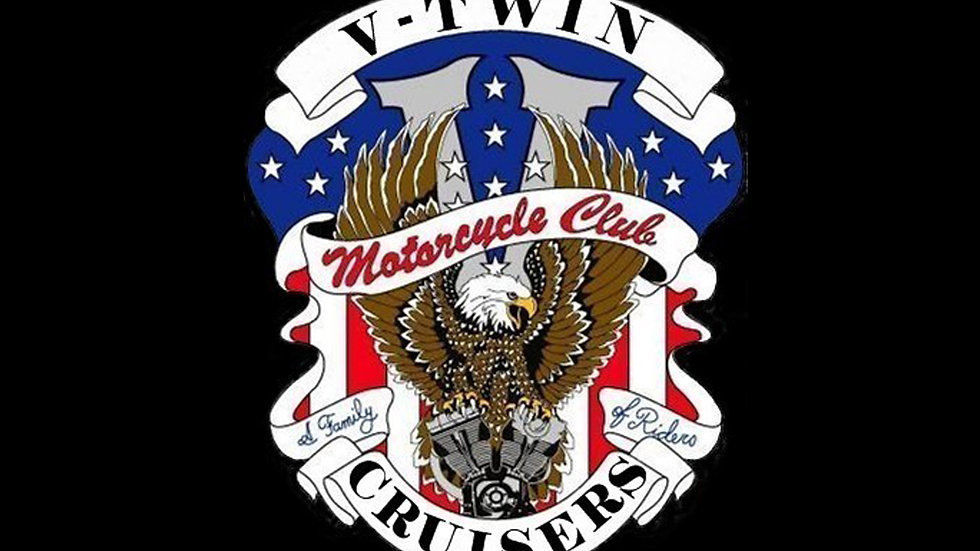 V-Twin Riders  Motorcyle  Flag
