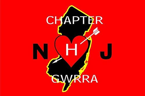 New Jersey Ch-J, Motorcyle  Flag