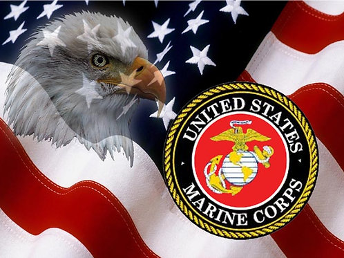 Marine Corps Eagle Flag