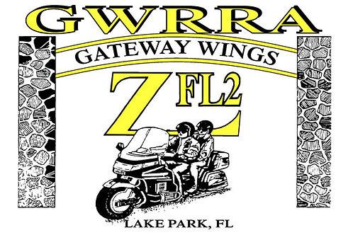 Florida, Ch-FL2-Z  Motorcyle  Flag