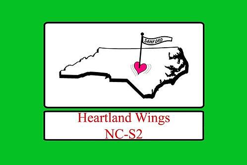 North Carolina Ch-S2, Motorcyle  Flag